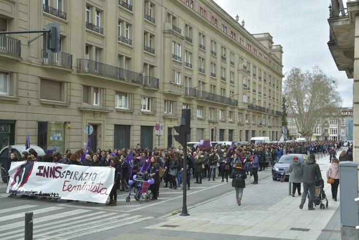 Milaka emakumek egin dute bat borroka feministarekin  - 30