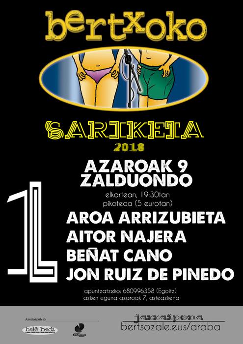 Bertxoko sariketa 2018  - 2