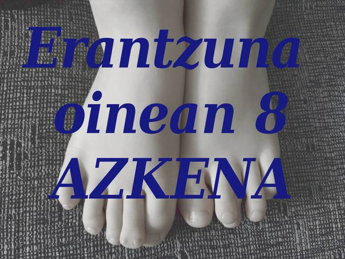 """Azken """"Erantzuna oinean"""" galdera jolasa"""