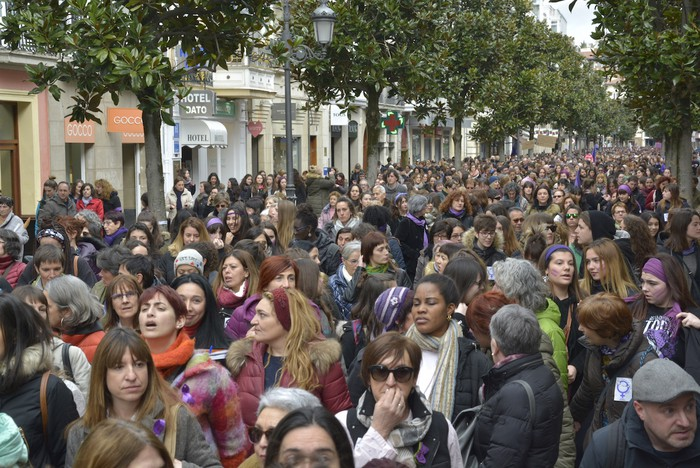 Milaka emakumek egin dute bat borroka feministarekin  - 43