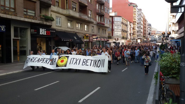 Zentral nuklearren aurkako manifestaziora deitu dute martxoaren 18rako Gasteizen