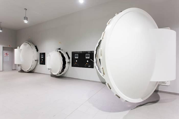Argia, tunelaren amaieran