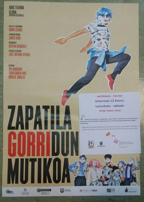 [ANTZEZLANA] Zapata gorridun mutikoa