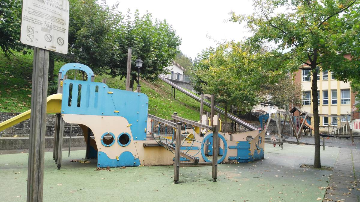 Aramaiok badu dagoeneko parkerako plana