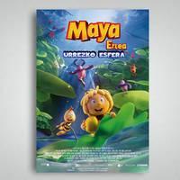 'Maya erlea, urrezko esfera'