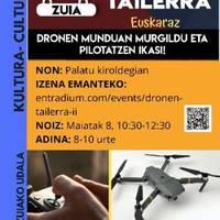 Dronen munduan murgildu
