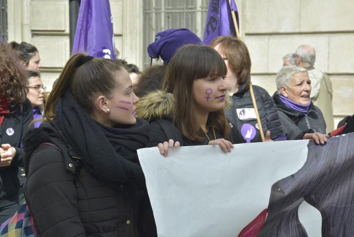 Milaka emakumek egin dute bat borroka feministarekin  - 31