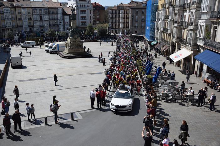 Gasteizen abiatu da Euskal Herriko Itzuliaren gaurko etapa  - 14