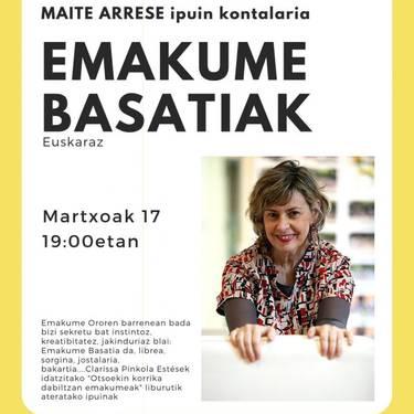 'Emakume basatiak', Maite Arreserekin