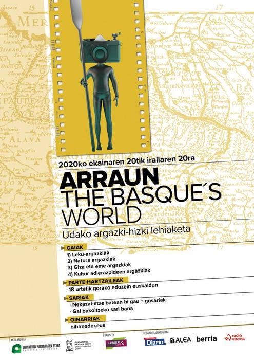 [ARGAZKI LEHIAKETA] Arraun the Basque's World