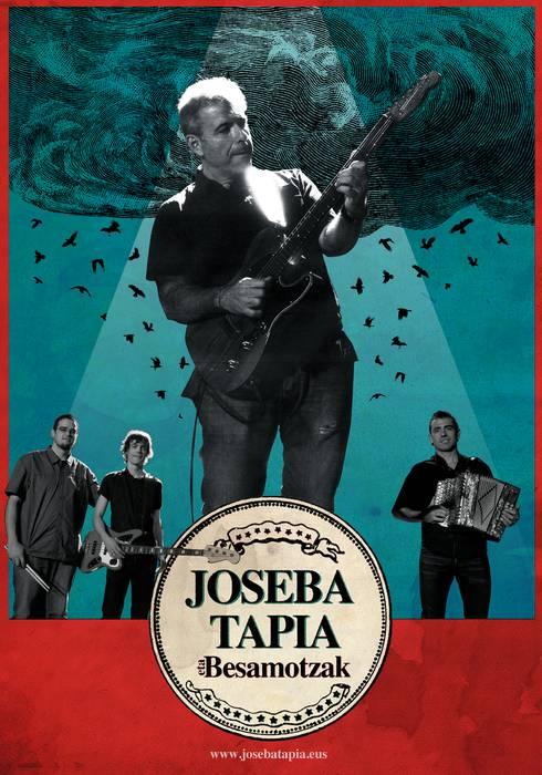 [KONTZERTUA] Joseba Tapia eta besamotzak