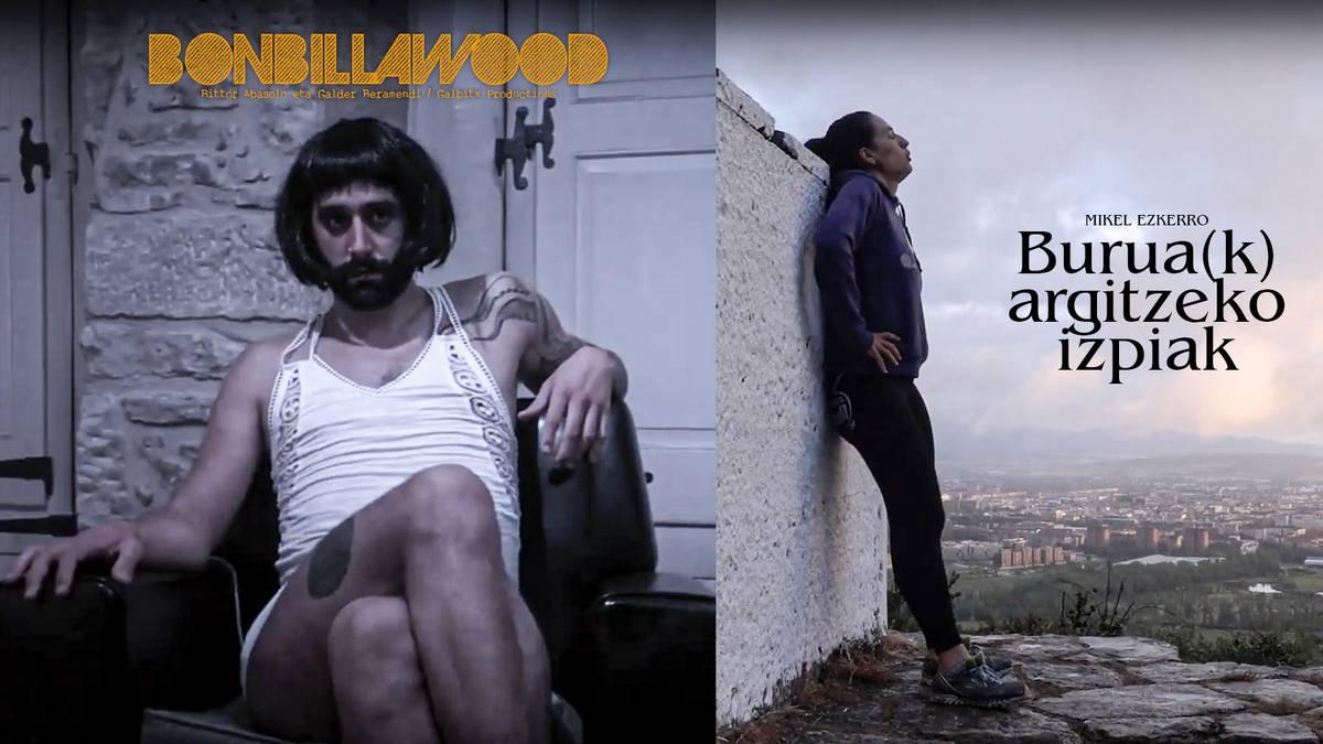 'Bonbillawood' eta 'Burua(k) argitzeko izpiak', bideo lehiaketaren irabazleak
