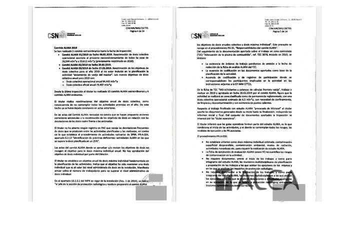 Garoñako erradiazio-dosiei buruzko galdera aurkeztu dute Espainiako Kongresuan