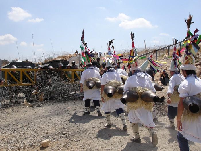 Kanpezu, sionisten jomugan