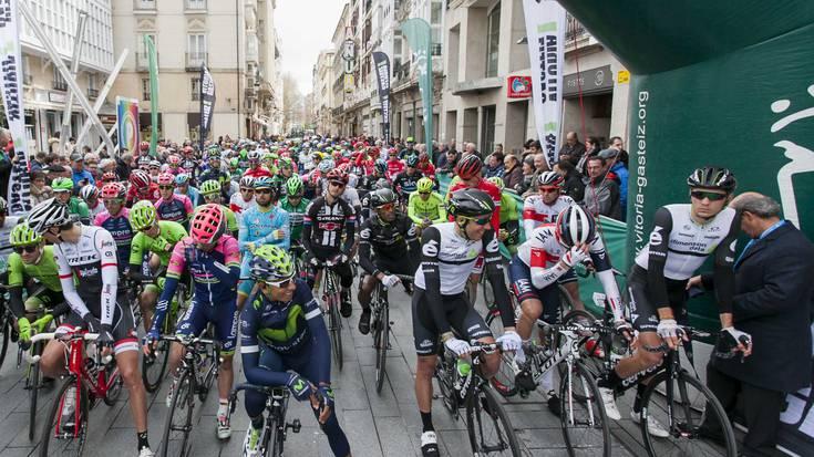Euskal Herriko Itzuliaren laugarren etapak Gasteizko trafikoari eragingo dio