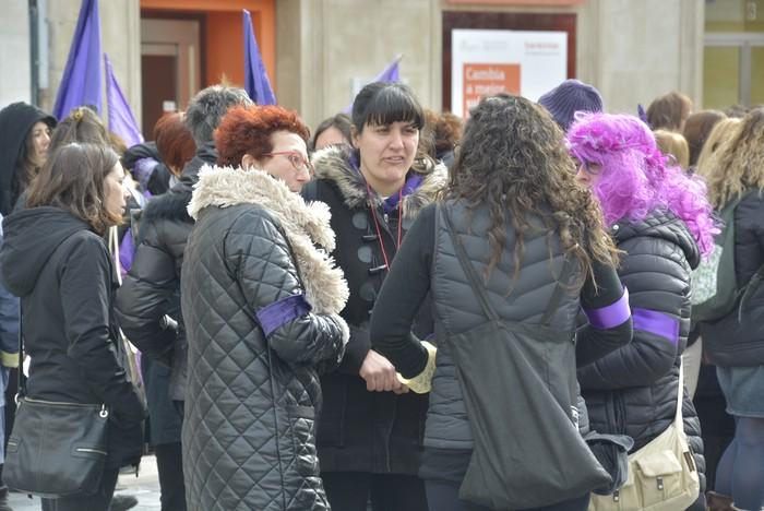 Milaka emakumek egin dute bat borroka feministarekin  - 6