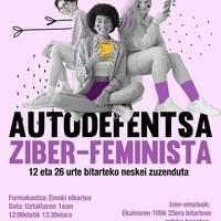 Autodefentsa ziber-feminista