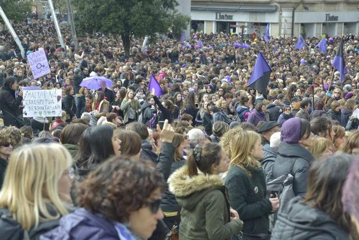 Milaka emakumek egin dute bat borroka feministarekin  - 21
