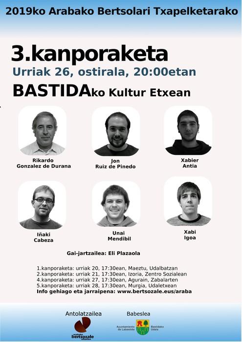 2019ko Arabako txapelketa osatuko duten kanporaketak urriaren 20an hasiko dira - 3