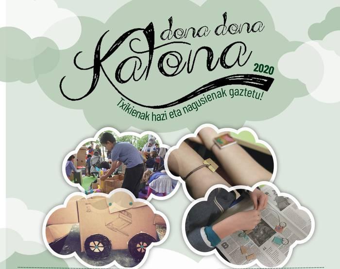 Dona Dona Katona: Makedo: kartoiarekin sortzeko tailerra