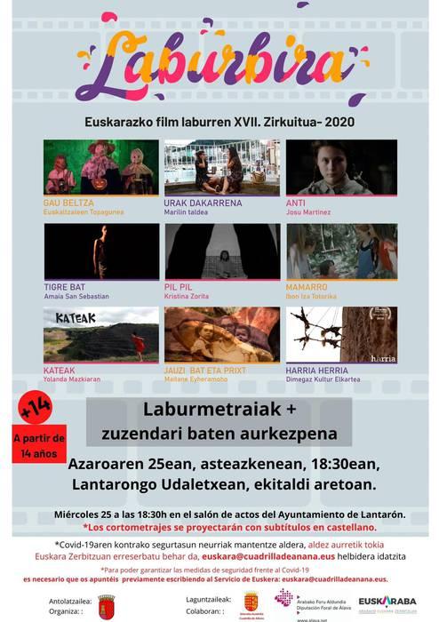 Euskarazko film laburren XVII. zirkuitua