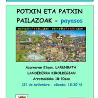 Potxin eta Patxin pailazoak