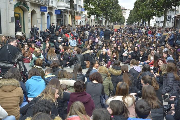 Milaka emakumek egin dute bat borroka feministarekin  - 51