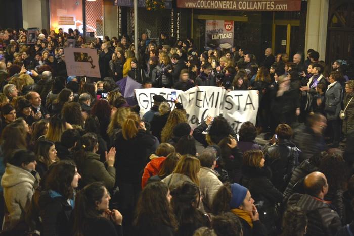 Borroka feministak gainezka egin du Gasteizko kaleetan - 14