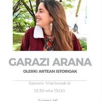 'Olerki artean istorioak', Garazi Arana