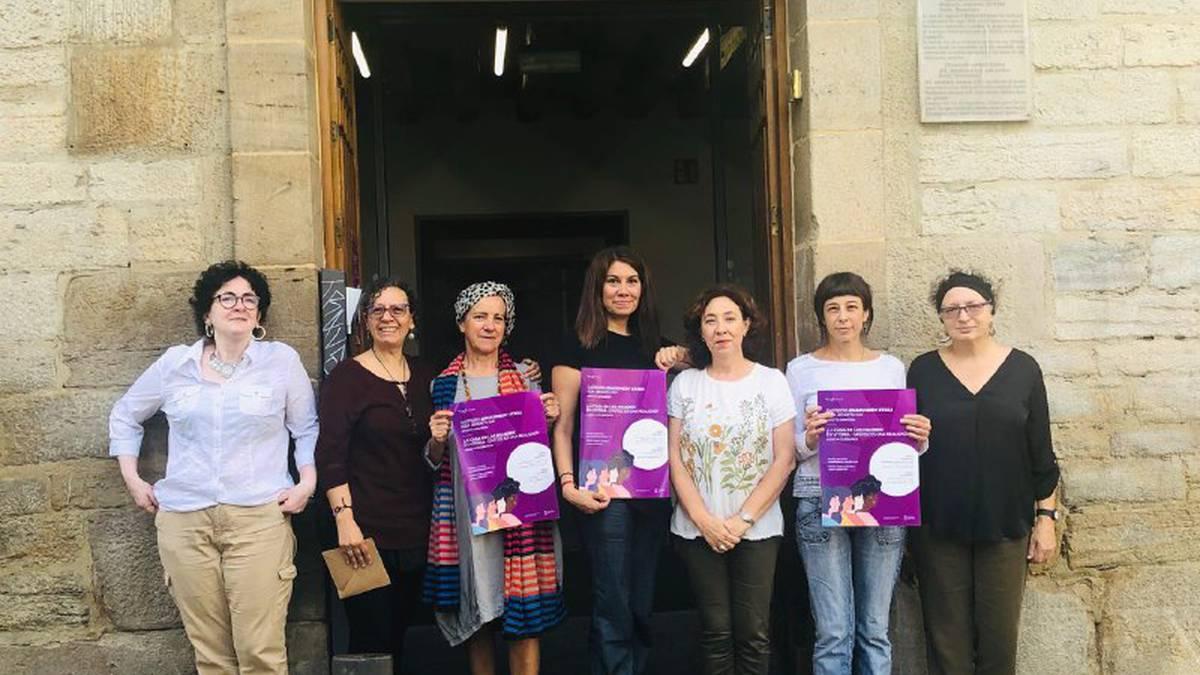 Larunbatean irekiko dute Sorginenea etxe feminista