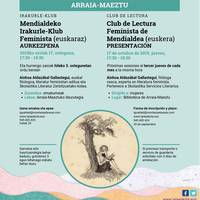[IRAKURLE KLUB FEMINISTA] Ainhoa Aldazabal Gallastegui