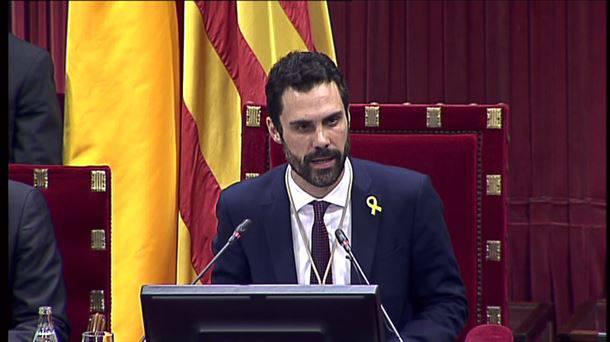 Roger Torrent Kataluniako Parlamentuko lehendakariak hitzaldia eskainiko du Gasteizen