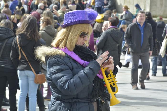 Milaka emakumek egin dute bat borroka feministarekin  - 19