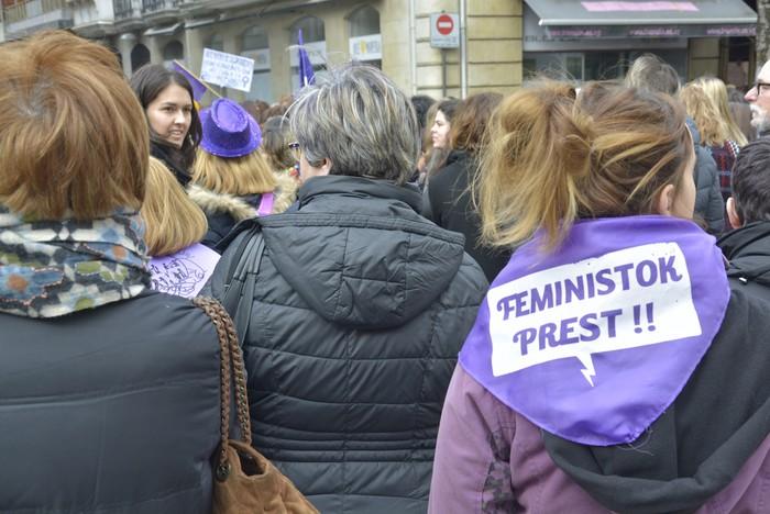 Milaka emakumek egin dute bat borroka feministarekin  - 52