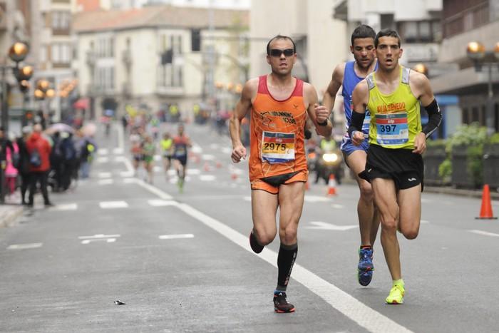 Trafiko mozketak izango dira igandean, Martin Fiz maratoia dela eta