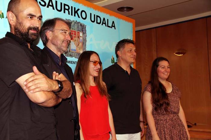 Miriam Isasi gasteiztarrak irabazi du 2016ko Otaola Beka