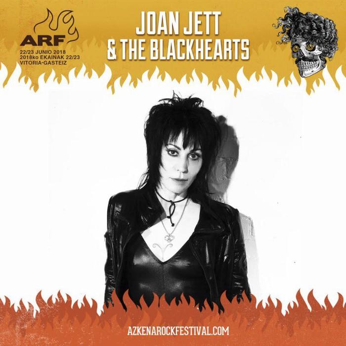 Joan Jett punk-rockaren ikonoa ekarriko du Azkena Rock jaialdiak