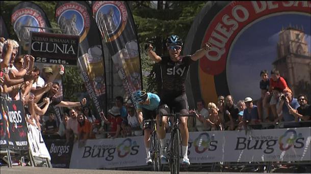 Mikel Landak irabazi du Burgosko Itzuliko lehen etapa