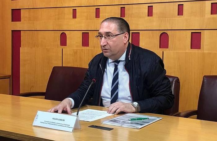 Zinegotzi lanak utzi eta Diputaziora bueltatuko da Felipe Garcia