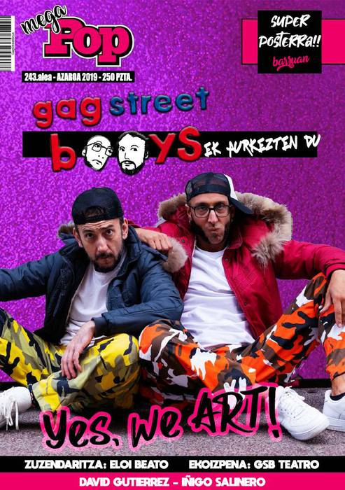 [ANTZERKIA] Gag Street Boys: 'Yes, we ART!'