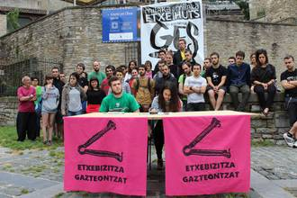 Udaberrian okupatutako Kutxi eta Pinto blokeetako gazteak epaituko dituzte datozen egunetan