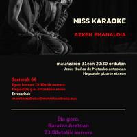 [ANTZERKIA] 'Miss Karaoke'