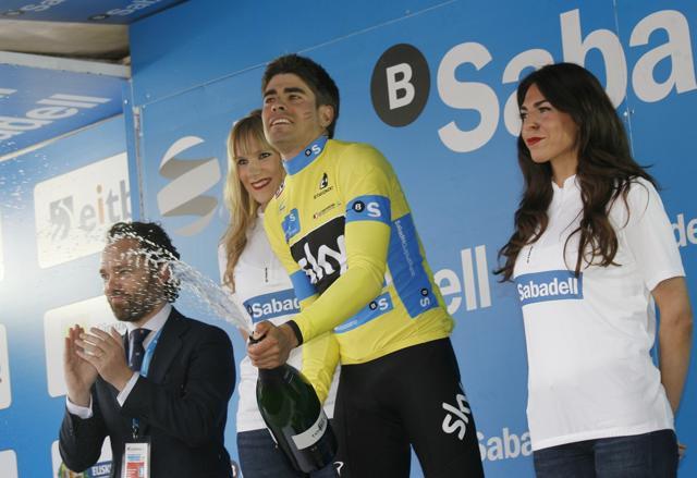Mikel Landa Itzuliaren bigarren etapan garaile