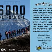 [IKUS-ENTZUNEZKOA] 'Oxigenoa euskarari 6000 metroan ere'
