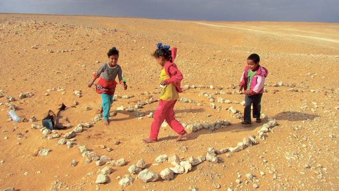 Gurean dira jada Saharako kanpalekuetako haurrak