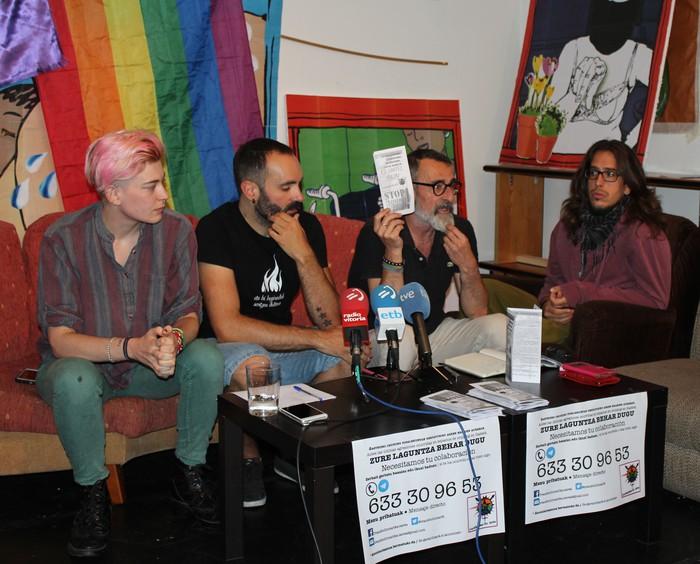 Eraso homofobo bat salatu du Transbollomarika sareak