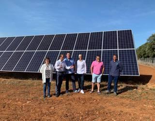 Nekazaritza bideragarri egin dute Urbisun, energia fotovoltaikoari esker