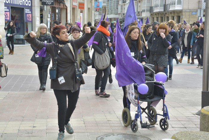 Milaka emakumek egin dute bat borroka feministarekin  - 8