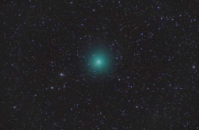 Wirtanen kometa behatzeko prestaketak hasi dituzte Izkin
