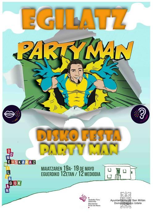[DONEMILIAGAN EUSKARAZ] Disko festa